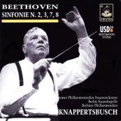 Beethoven: Symphonies Nos. 2, 3, 7, 8 by Hans Knapperstbusch
