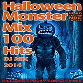 Halloween Hard Techno Nrg Trance Monster Mix 100 Hits DJ Mix 2014 - Includes Spooky Sound Fx Mix by Various Artists