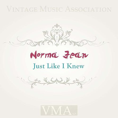 Just Like I Knew von Norma Jean