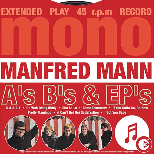 A's B's & EP's by Manfred Mann