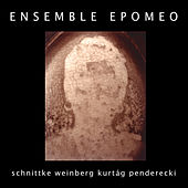 String Trios by Kurtág, Penderecki, Schnittke, Weinberg by Ensemble Epomeo
