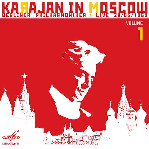 Karajan in Moscow, Vol. 1 (Live) by Berlin Philharmonic