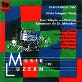 Musik in Luzern: Schnyder von Wartensee - Lauber - Scriabin - Eisenmann - Diethelm - Benary - Willisegger: Klaviermusik solo by Hiroko Sakagami