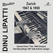 Dinu Lipatti in Zurich by Various Artists