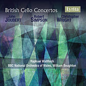 British Cello Concertos by Raphael Wallfisch