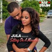 Sitting on a Mountain by Jula