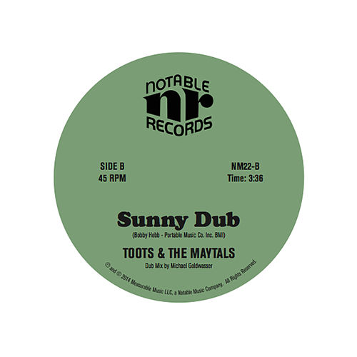 Sunny Dub by Toots and the Maytals