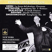 Mitropoulos conducts New York Philharmonic Orchestra by Dimitri Mitropoulos