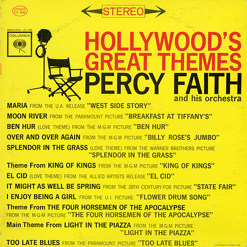 Hollywood's Great Themes by Percy Faith