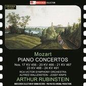 Mozart: Piano Concertos by Arthur Rubinstein