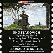 Shostakovich: Works for Orchestra & Piano by Various Artists
