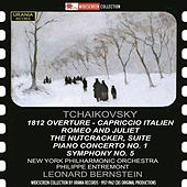 Tchaikovsky: 1812 Overture, Capriccio Italien, Romeo & Juliet, The Nutcracker Suite, Piano Concerto No. 1 & Symphony No. 5 by Various Artists