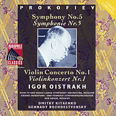 Prokofiev: Symphony No. 5 - Violin Concerto No. 1 by Igor Oistrakh