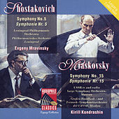 Shostakovich: Symphony No. 5 - Myaskovsky: Symphony No. 15 by Various Artists