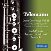 Telemann: Oboe Sonatas Vol. II by Sarah Francis