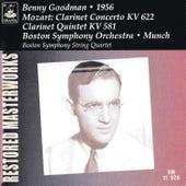 Mozart: Clarinet Concerto K. 622 & Clarinet Quintet K. 581 by Benny Goodman