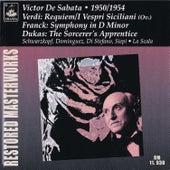 Verdi: Requiem & I Vespri Siciliani - Franck: Symphony in D Minor - Dukas: The Sorcerer's Apprentice by Various Artists