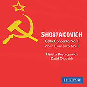 Shostakovich: Cello Concerto No. 1 and Violin Concerto No. 1 by Various Artists