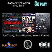 Fan Appreciation Remixes 3x Play by Kokane