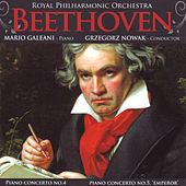 Beethoven: Piano Concerti Nos. 4 & 5 by Royal Philharmonic Orchestra