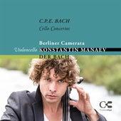 C.P.E. Bach: Cello Concertos by Konstantin Manaev