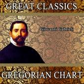 Giovanni Gabrieli: Great Classics. Gregorian Chart by Orquesta Filarmónica Peralada