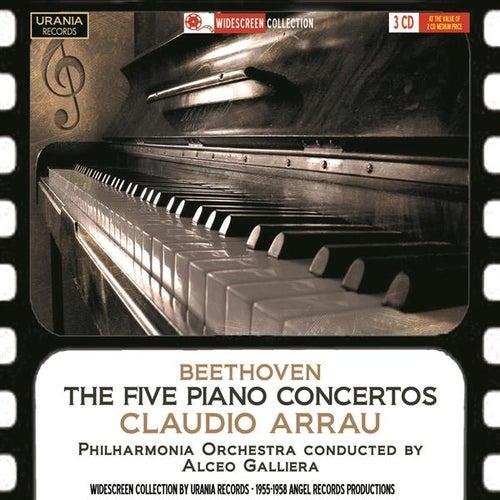 Beethoven: The 5 Piano Concertos by Claudio Arrau