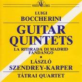 Boccherini: Guitar Quintets by Laszlo Szendrey-Karper