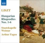Liszt: Hungarian Rhapsodies Nos. 1-6 by Weimar Staatskapelle