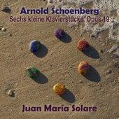 Schoenberg: Sechs Kleine Klavierstuecke, Op. 19 (EP) by Juan María Solare