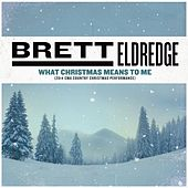 What Christmas Means To Me (2014 CMA Country Christmas Performance) by Brett Eldredge