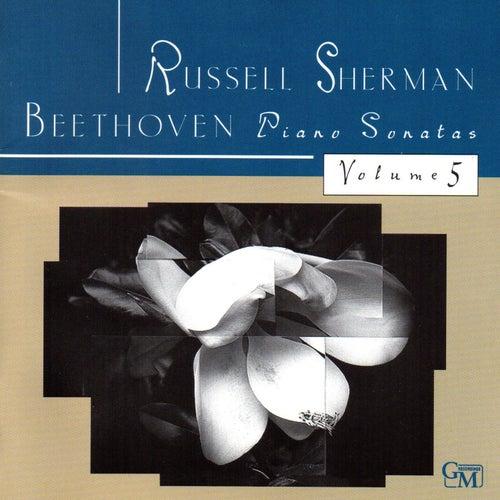 Beethoven: Piano Sonatas, Vol. 5 by Russell Sherman