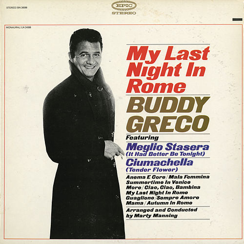 My Last Night in Rome by Buddy Greco
