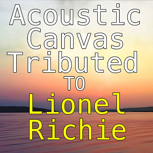Acoustic Canvas Of Lionel Richie by Wildlife