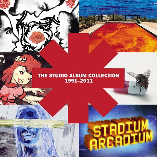 The Studio Album Collection 1991 - 2011 von Red Hot Chili Peppers