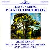 Ravel & Grieg: Piano Concertos by Jeno Jando
