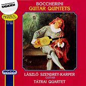 Boccherini: Three Guitar Quintets (Tatrai String Quartet; Laszlo Szendrey-Karper) by Laszlo Szendrey-Karper