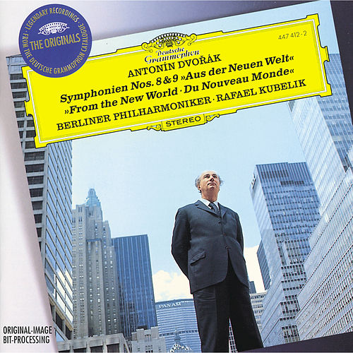 Dvorák: Symphony Nos.8 & 9 'From The New World' by Berliner Philharmoniker