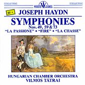 Haydn: Symphonies Nos. 49, 59 & 73 by Hungarian Chamber Orchestra