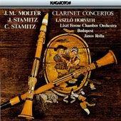 Molter, J. Stamitz & C. Stamitz: Clarinet Concertos by Laszlo Horvath