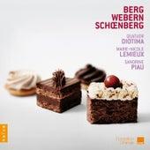 Schoenberg, Berg, Webern,Quatuor Diotima by Quatuor Diotima