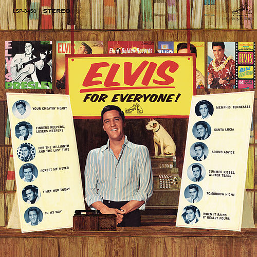 Elvis Is for Everyone by Elvis Presley