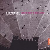 Beethoven: Sonatas No. 4 & No. 28, Rondos by Grigory Sokolov