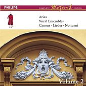 Mozart: Arias, Vocal Ensembles & Canons - Vol.2 by Various Artists