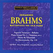 Brahms: Masterpieces for Solo Piano by Various Artists