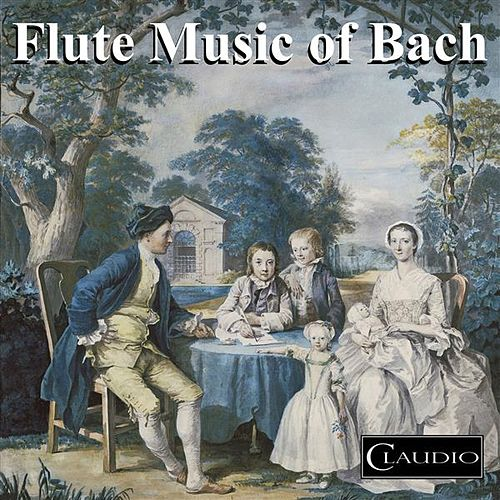 Flute Music of Bach by Christopher Hyde-Smith
