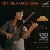 Khalida Akhtyamova, Violin by Leonid Blok
