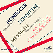 Honegger, Schnittke & Messiaen by Mikhail Voskresensky