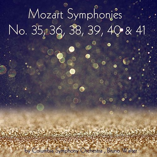 Mozart: Symphonies Nos. 35, 36, 38, 39, 40 & 41 by Columbia Symphony Orchestra