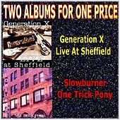 Two Albums for One Price - Generaton X & Slowburner by Various Artists
